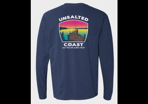 Unsalted Coast Unsalted Coast L/S Tee w/ Dock