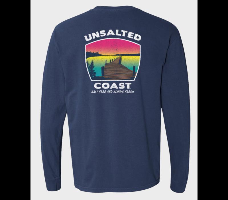 Unsalted Coast L/S Tee w/ Dock