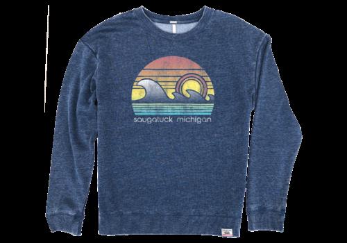 TechStyles Techstyles W's Saugatuck Wave Crew Sweatshirt