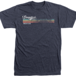 TechStyles Techstyles Saugatuck Heathered Tri-Color Stripe