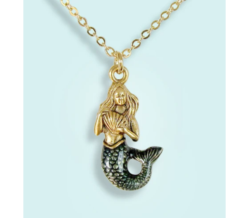 Ornamental Things Mermaid Necklace