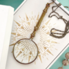 Ornamental Things Ornamental Things Ornate Magnifying Glass Necklace