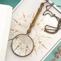 Ornamental Things Ornate Magnifying Glass Necklace