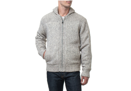 Schott Schott Fleece Lined Sweater Jacket