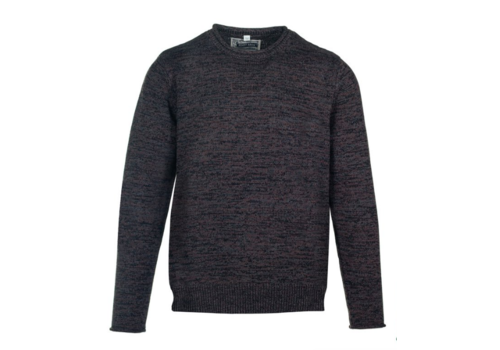 Schott Schott M's Cotton Roll Neck Sweater