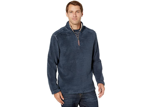 True Grit True Grit Pebble Pile 1/4 Zip Pullover