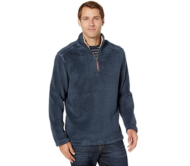 True Grit Pebble Pile 1/4 Zip Pullover