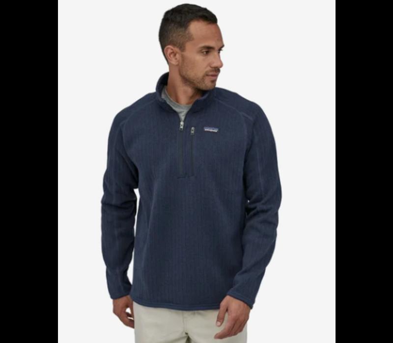 Patagonia Men's Better Sweater Rib Knit 1/4 Zip Fleece