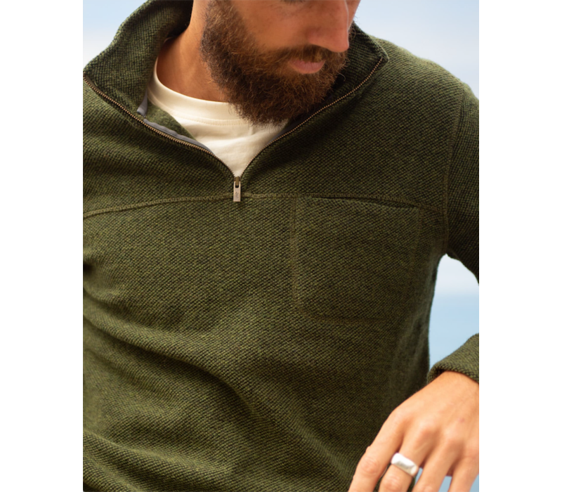 Toad & Co Breithorn 1/4 Zip Sweater