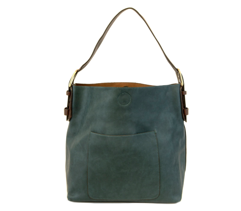 Joy Susan Hobo Cedar Handle Handbag