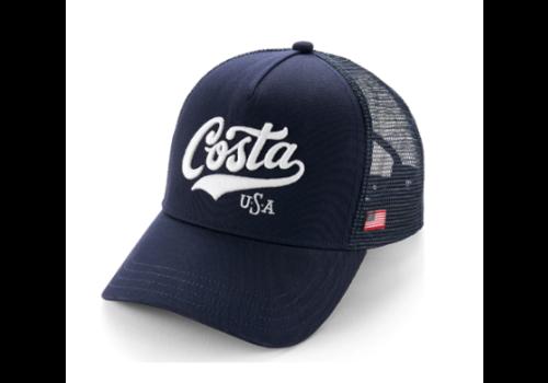 Costa Costa Scripted USA Snapback, Navy