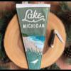 Yoho & Co Yoho & Co Felt Pennant Lake Michigan