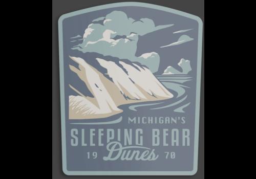 The Landmark Project The Landmark Project Sleeping Bear Dunes Sticker