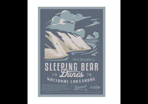 The Landmark Project The Landmark Project Sleeping Bear Dunes Poster 18x24