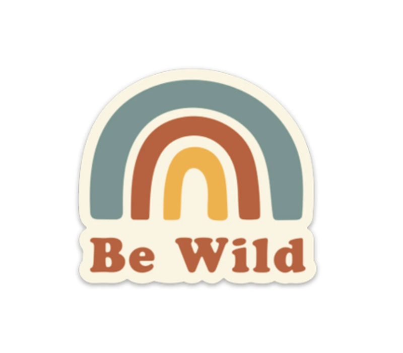 Keep Nature Wild-Be Wild Sticker