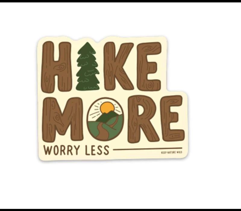 Keep Nature Wild-Worry Less Sticker