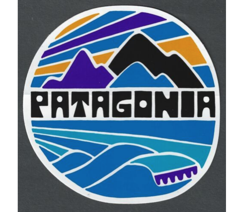 Patagonia Fitz Roy Rights Sticker