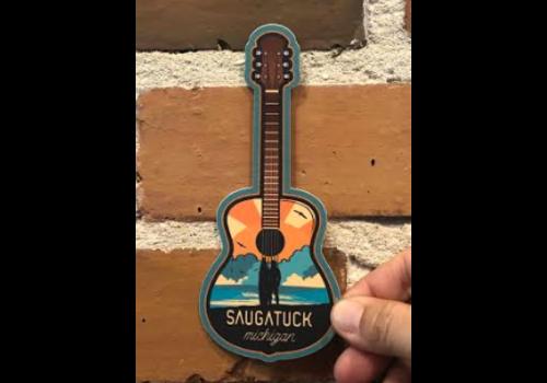 Steamboat Sticker Steamboat Sticker Guitar Surfer