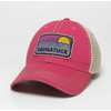 League League Saugatuck Waves & Sun Trucker, Dark Pink