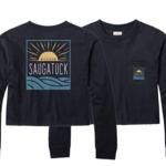 League League Legacy W's Open Water Saugatuck Crop LS