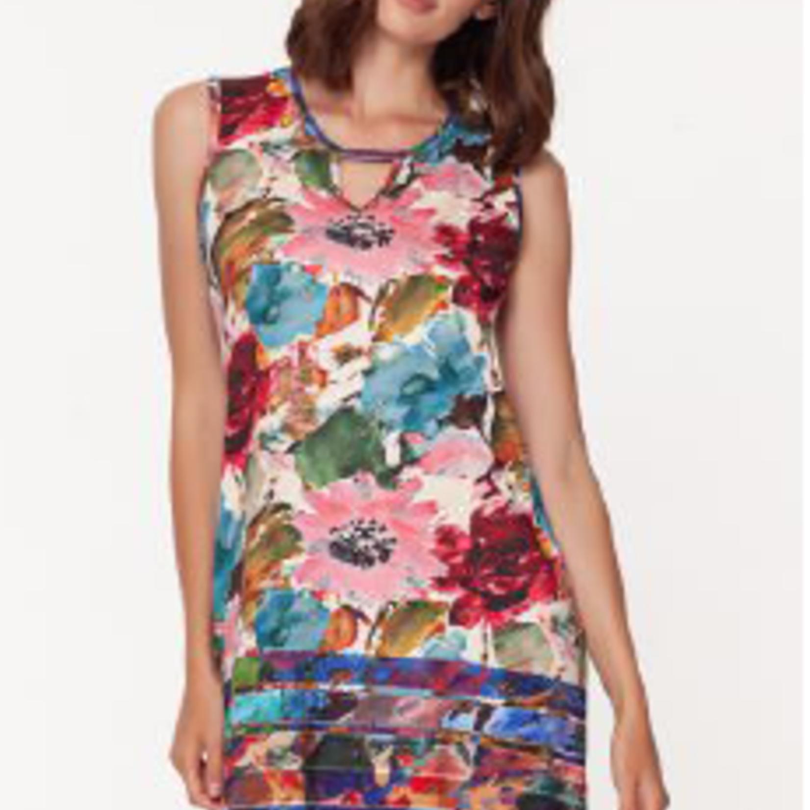 Isle Apparel Isle Key Hole Sleeveless Dress