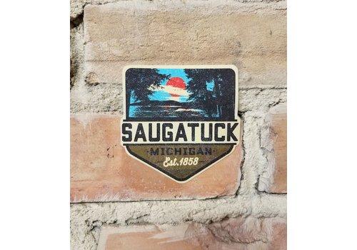 TechStyles TechStyles Saugatuck Est. 1868 Sticker