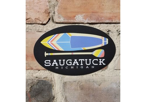 TechStyles TechStyles Saugatuck Kayak/Paddle Sticker