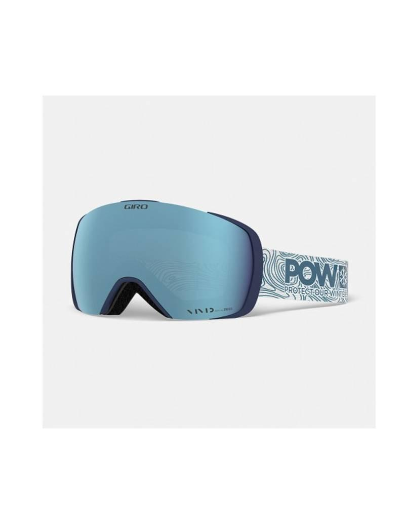 Giro Contact Pow BLue Vivid