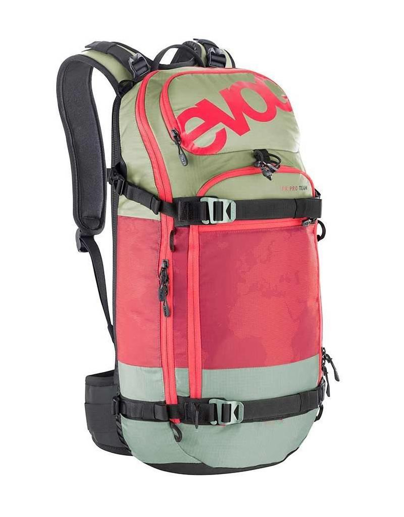 Evoc EVOC, FR Pro Team, Snow Protector 20L, Backpack, Olive/Ruby, ML