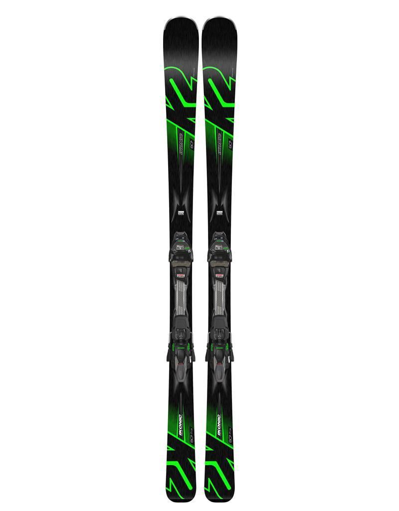 K2 IKONIC 80 Ti MXC QC 2019