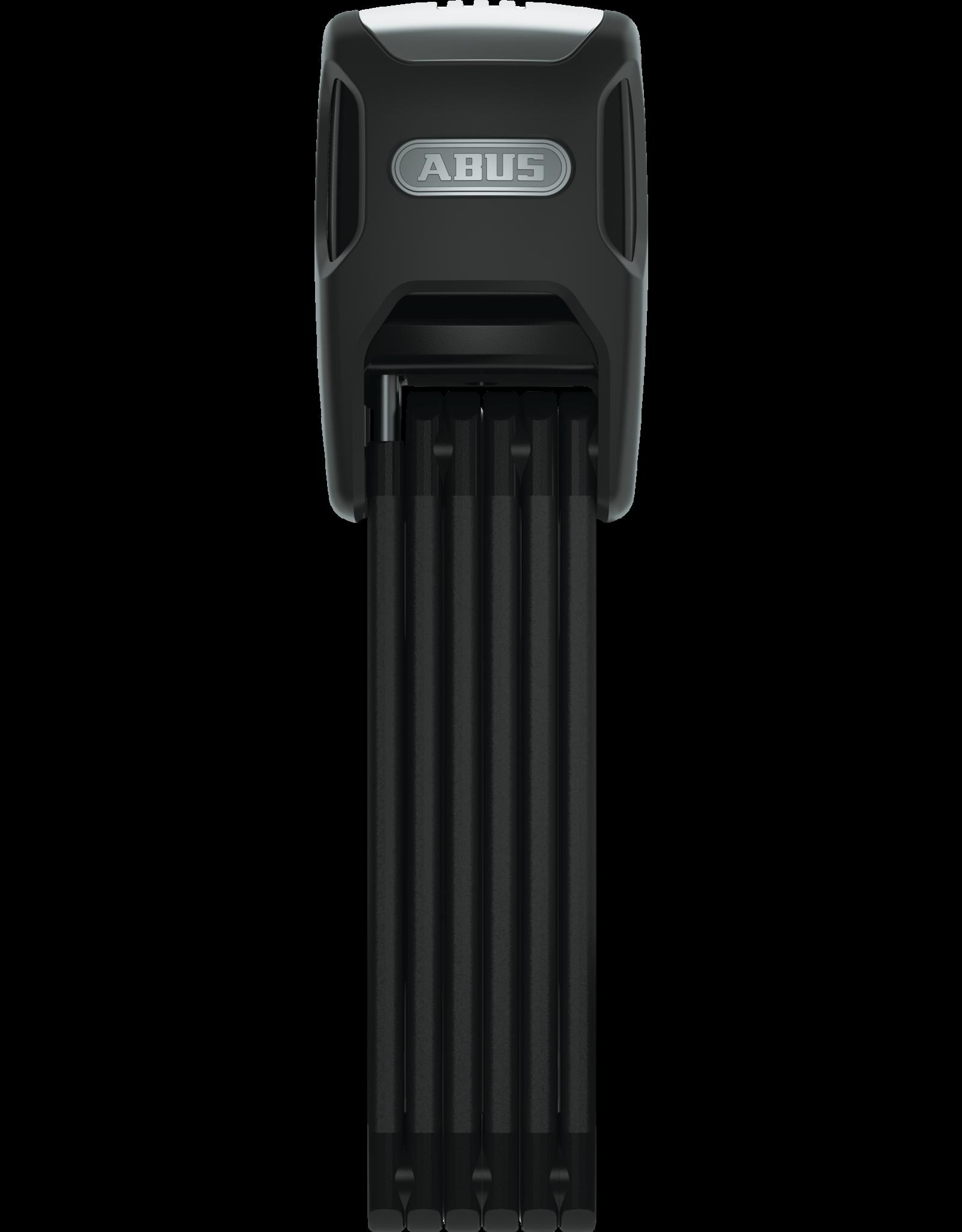 Abus Abus, Bordo Alarm 6000, Foldable lock w/ key lock, 5mm x 90cm (5mm x 3'), SH Bracket, Black