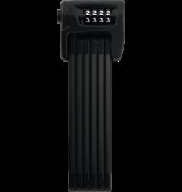 Abus Abus, Bordo Combo 6100, Folding lock with combination, 90cm (3'), Black