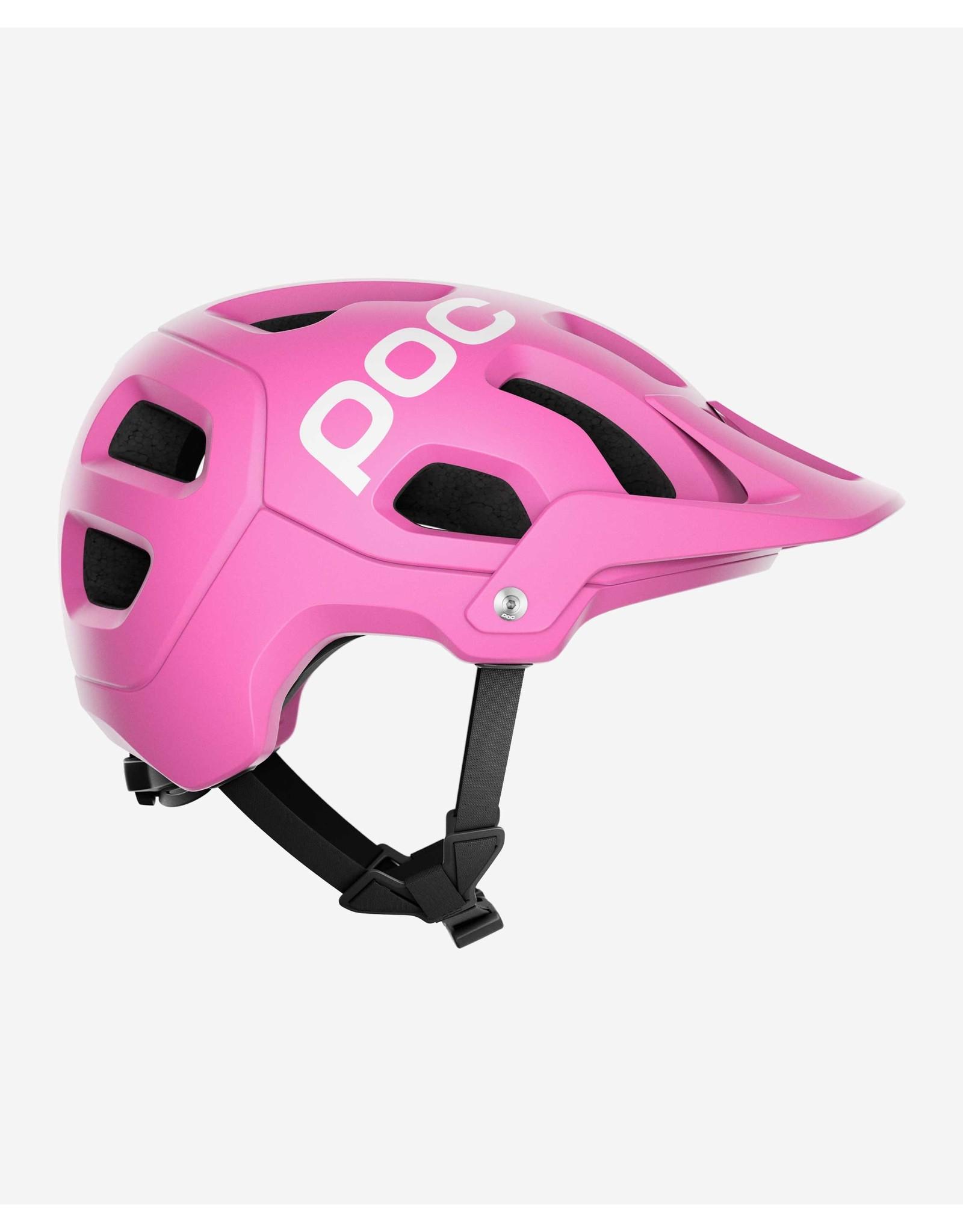 POC Tectal Actinium Pink Matte Helmet M-L