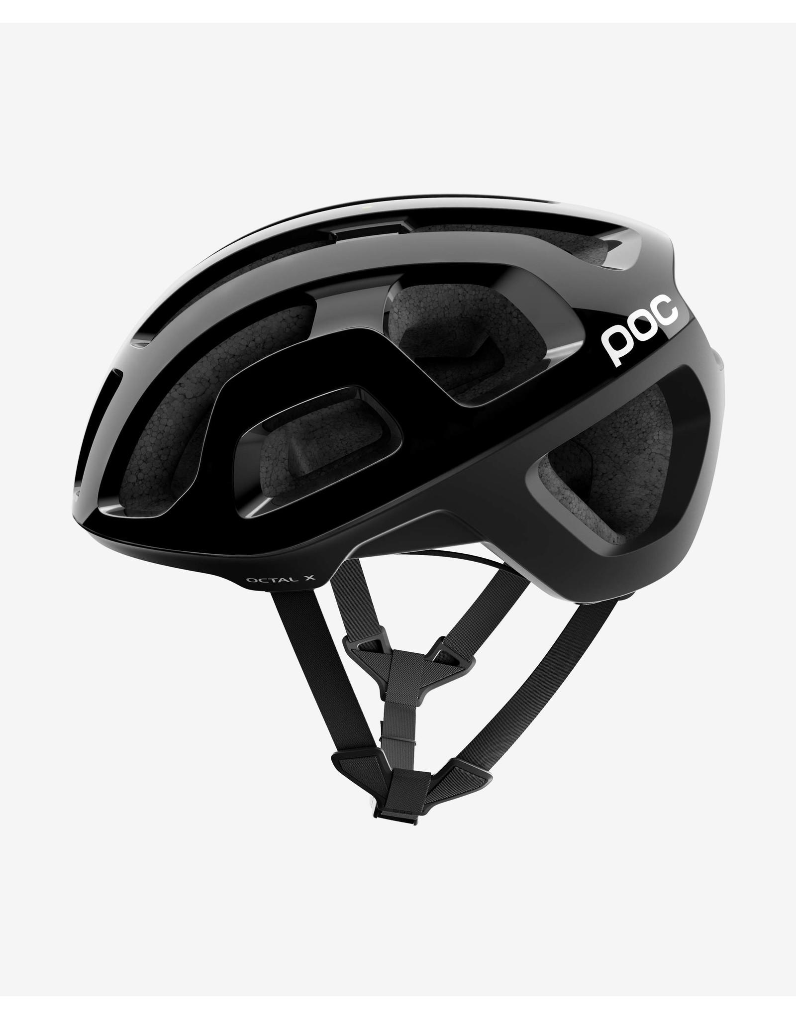 POC Octal X SPIN (CPSC) Uranium Black Helmet MED