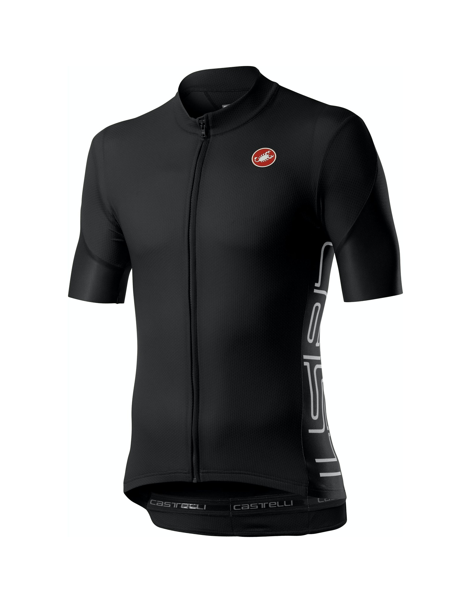 Castelli Entrata V Jersey Light Black