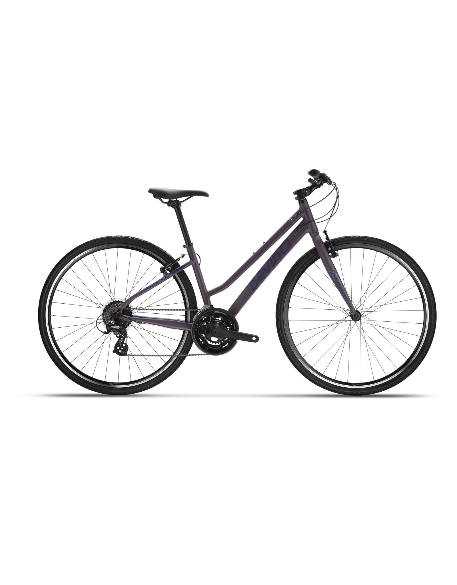 Devinci Milano Stepthru 21s Purple Ghosst 2021 MD