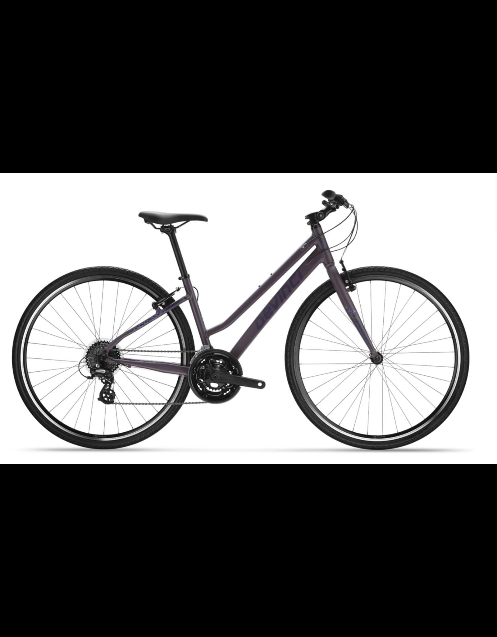 Devinci Milano Stepthru 21s Purple Ghost 2021
