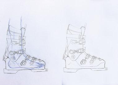 Custom Ski Boot Work