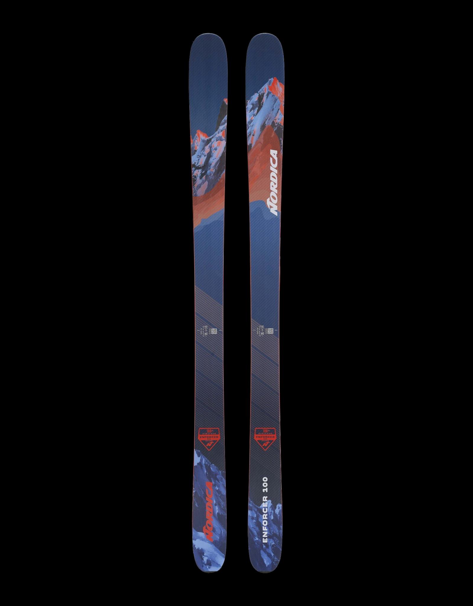 Nordica ENFORCER 100 FLAT BLUE-RED 2022