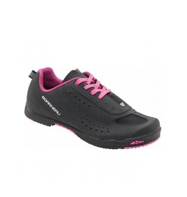 GARNEAU WOMEN'S URBAN CYCLING SHOES NOIR/ROSE BLACK/PINK 41