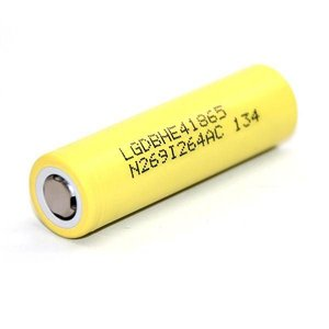 LG LG HE4 18650 Battery 2500mAh 20A