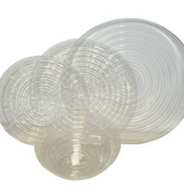 """Curtis Wagner CW 14"""" Clear Vinyl Plant Saucer"""