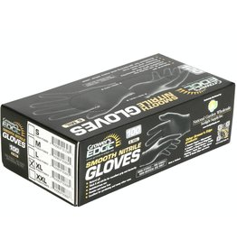 Grower's Edge Grower's Edge Black Powder Free Nitrile Gloves 6 mil - X-Large 100/Box