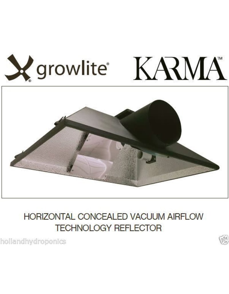 Growlite Growlite 400W -1000W Horizontal AC Reflector