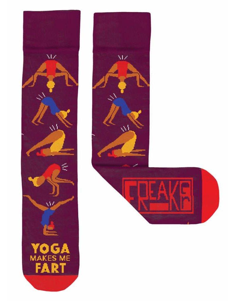 Freaker Socks Freaker Socks - Yoga Makes Me Fart