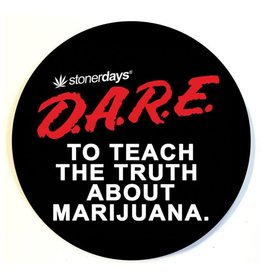 Stonerdays D.A.R.E. To Teach The Truth About Marijuana Dab Pad