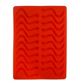 Dope Molds Gummy Worm Mold Red