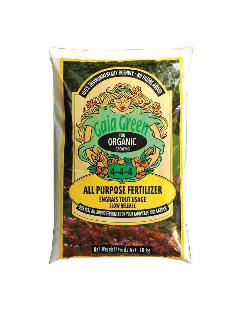 Gaia Green GG All Purpose 4-4-4 10kg Bag