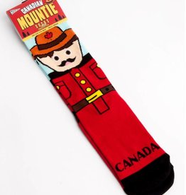 Main and Local Canadian Mountie Socks