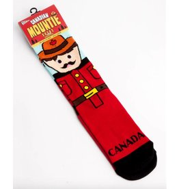 Canadian Mountie Socks